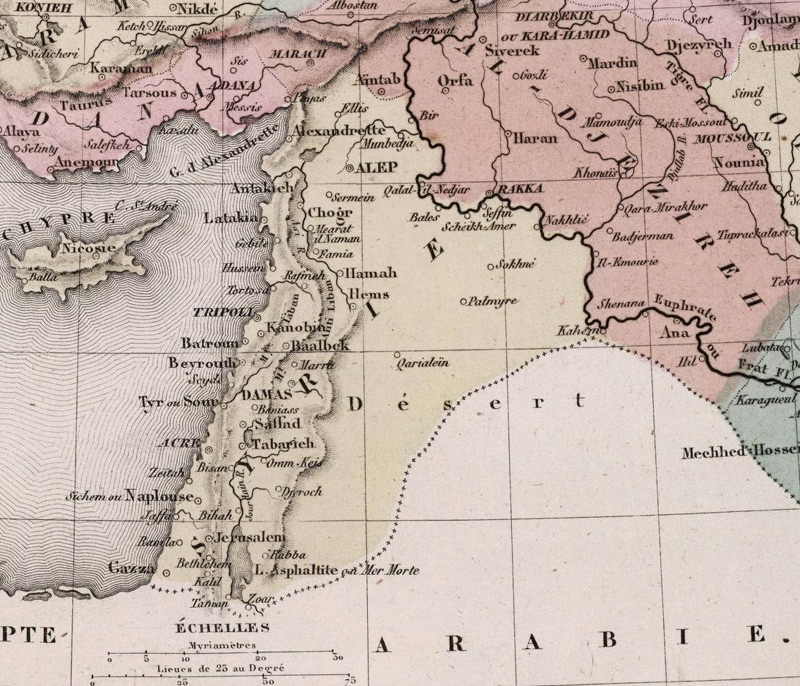 Syrie vers 1850