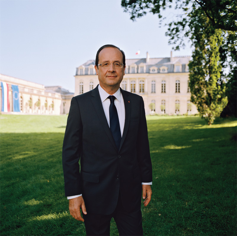 Portrait officiel François Hollande