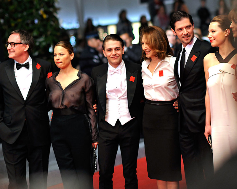 The team behind 'Laurence Anyways' attends the film's premiere in Cannes, France.