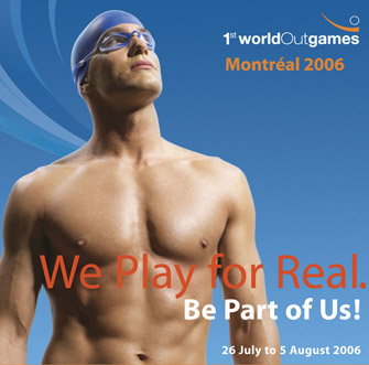 Montreal Outgames 2006 - Swimming.