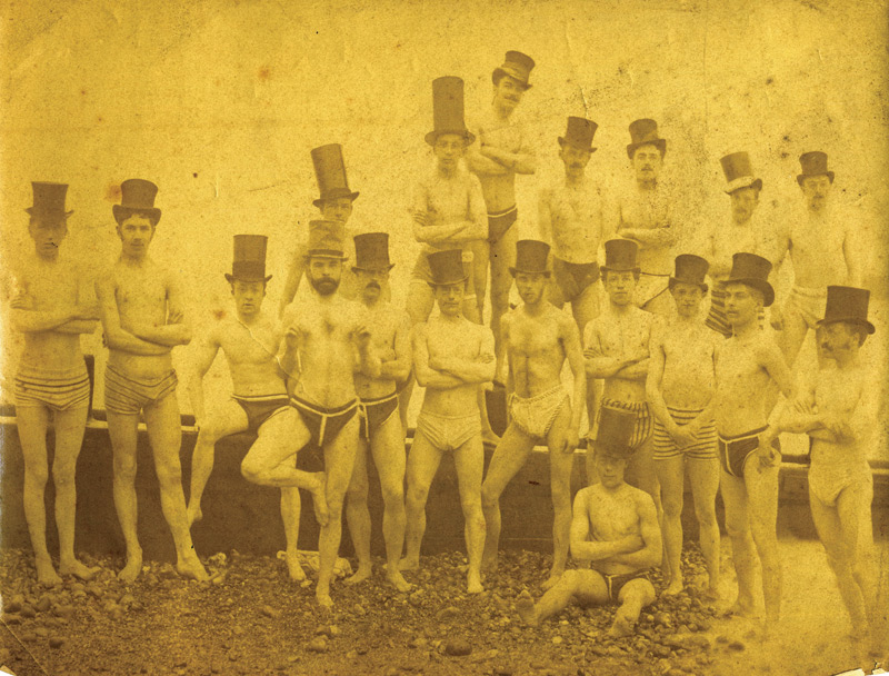 The Brighton Swimming Club, 1863.