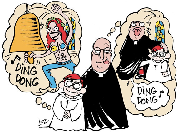 Charlie Hebdo : ding dong