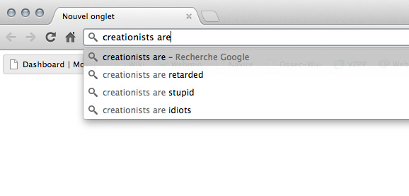 Creationists are stupid