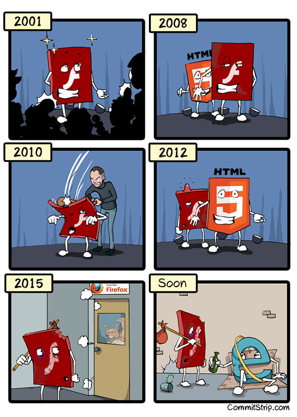 A Brief History of Flash