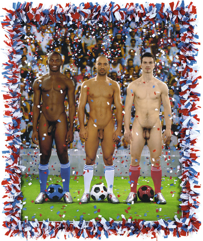 Pierre et Gilles, Vive la France, football 2006.
