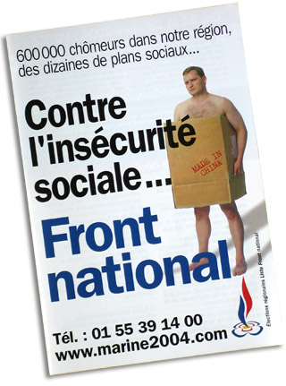 tract Front National régionales 2004