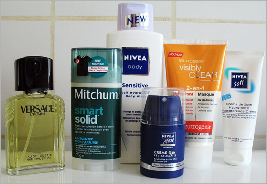 Tous mes produits de beaut.