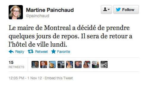 Tweet Martine Painchaud